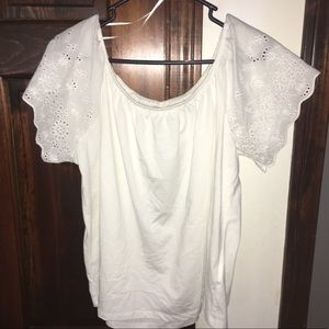 H & M Off-Shoulder Flowy Top